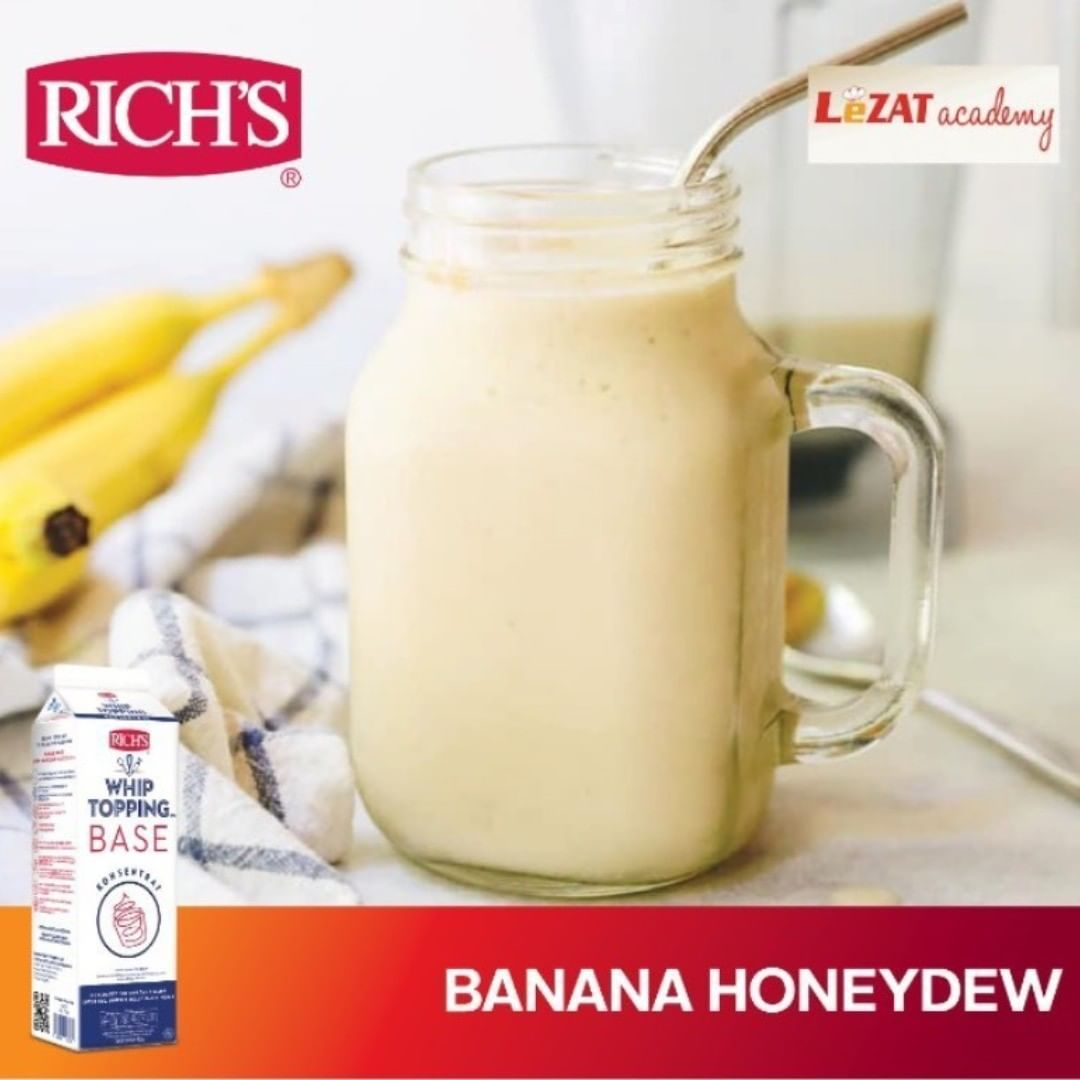 Resep Banana Honey Dew By LeZAT Academy