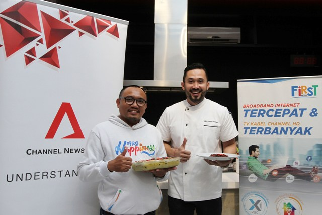 First Media Berkolaborasi Dengan Channel NewsAsia Luncurkan Program Memasak