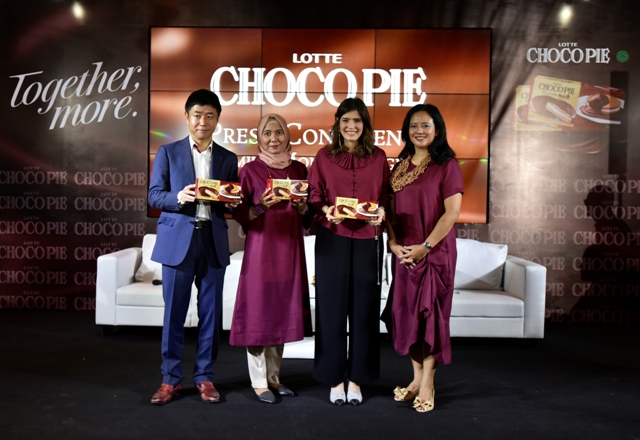 Lotte Choco Pie Luncurkan Kampanye #PremiumMomentstogether