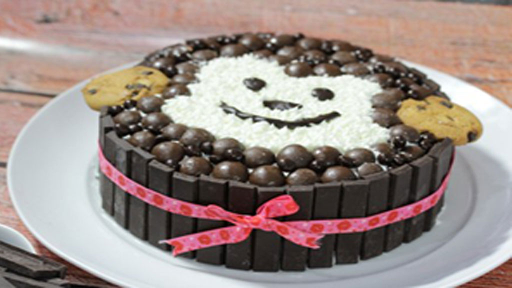 Black Forest Candy Cake