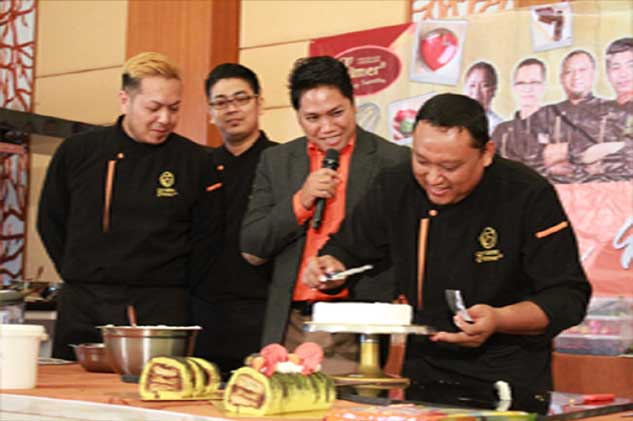 Elmer Big Chocolate Demo With Elmer Chef From Philippine