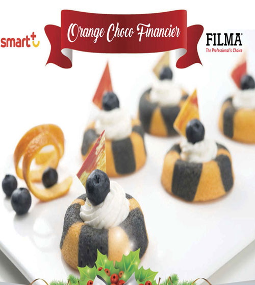Orange Choco Financier By Filma
