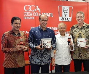 KFC Indonesia Gandeng Coca Cola Amatil Indonesia C...