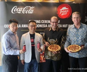 Coca-Cola Amatil Indonesia dan Pizza Hut Indonesia...