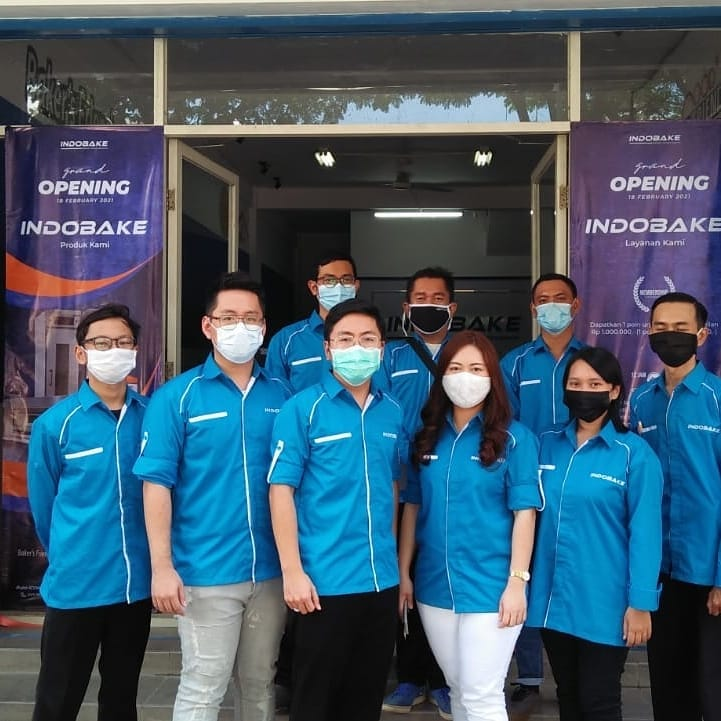 Indobake Hadirkan Baking & Mixing Equipment Bagi Pecinta Baking Surabaya