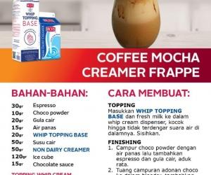 Coffee Mocha Creamer Frappe