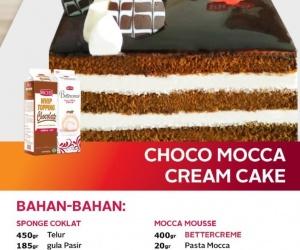 Choco Mocca Cream Cake