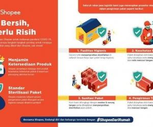 Belanja di Shopee Paket Bersih, Tak Perlu Risih