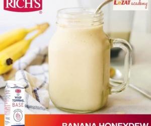 Resep Banana Honey Dew By LeZAT Academy