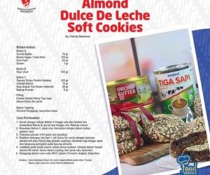 Resep Almond Dulce De Leche Soft Cookies By INDOLA...