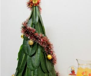 Trik Membuat Miniatur Pohon Natal