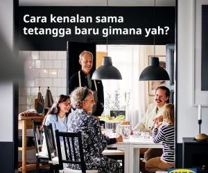 Tetangga Baru Siap Buka Pintu Untukmu, IKEA Buka T...