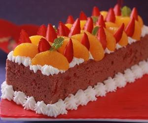 Cake Buah Imlek
