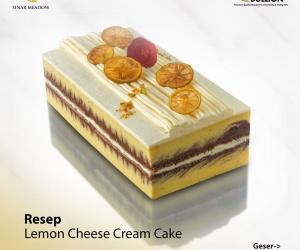 Lemon Chesee Cream Cake