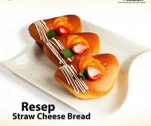 STRAW CHEESE BREAD