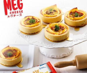 SMOKED BEEF QUICHE WITH CARAMELIZED ONION