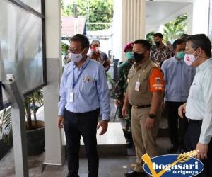 Walikota Apresiasi Langkah Bogasari Hadapi Pandemi